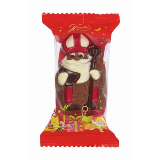 Chocolade holfiguur 'Sint '55 G-2 708.01.0107 img