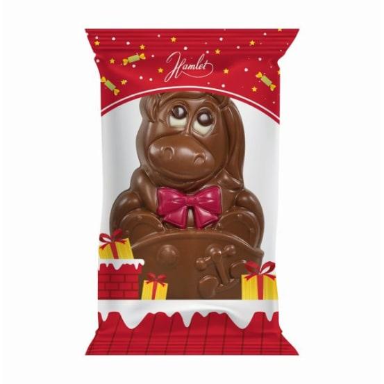 Chocolade holfiguur 'mix' 50 G-7 708.01.0207 img