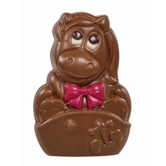 Chocolade holfiguur 'mix' 50 G-4 708.01.0210 img