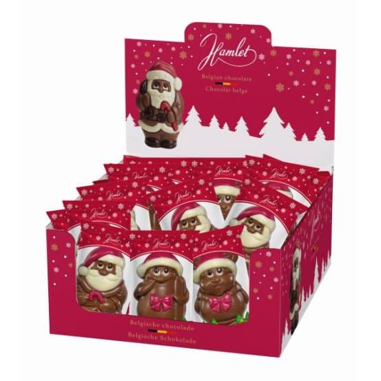 Chocolade holfiguur 'mix' 50 G-1 708.01.1700 img