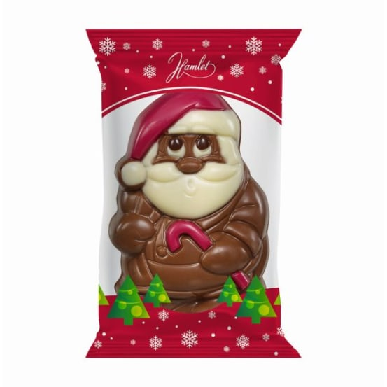 Chocolade holfiguur 'mix' 50 G-5 708.01.1700 img