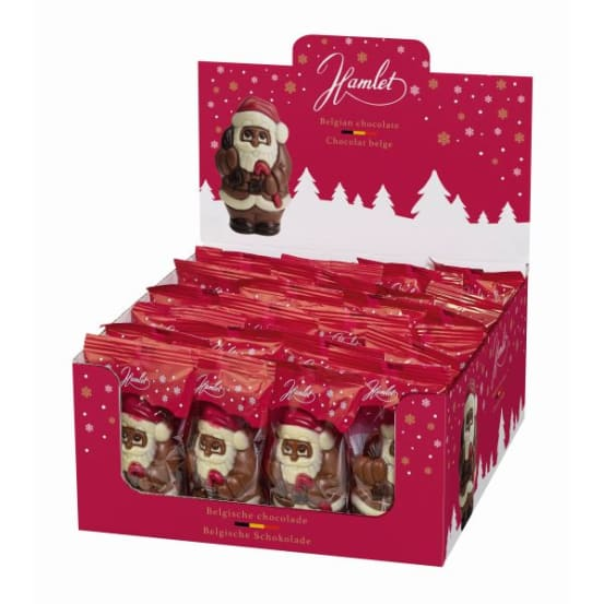 Chocolade holfiguur 'Santa' 55 G-1 708.01.1800 img