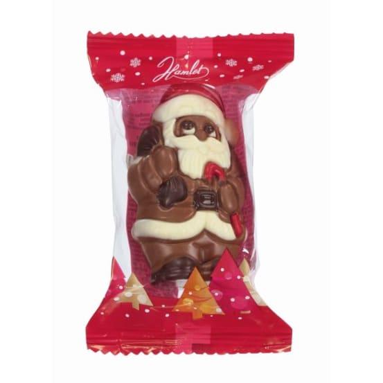 Chocolade holfiguur 'Santa' 55 G-2 708.01.1800 img