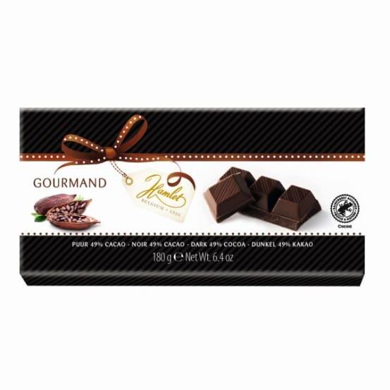 Reep donkere chocolade 49% 180 G-1 300.00.0001 img