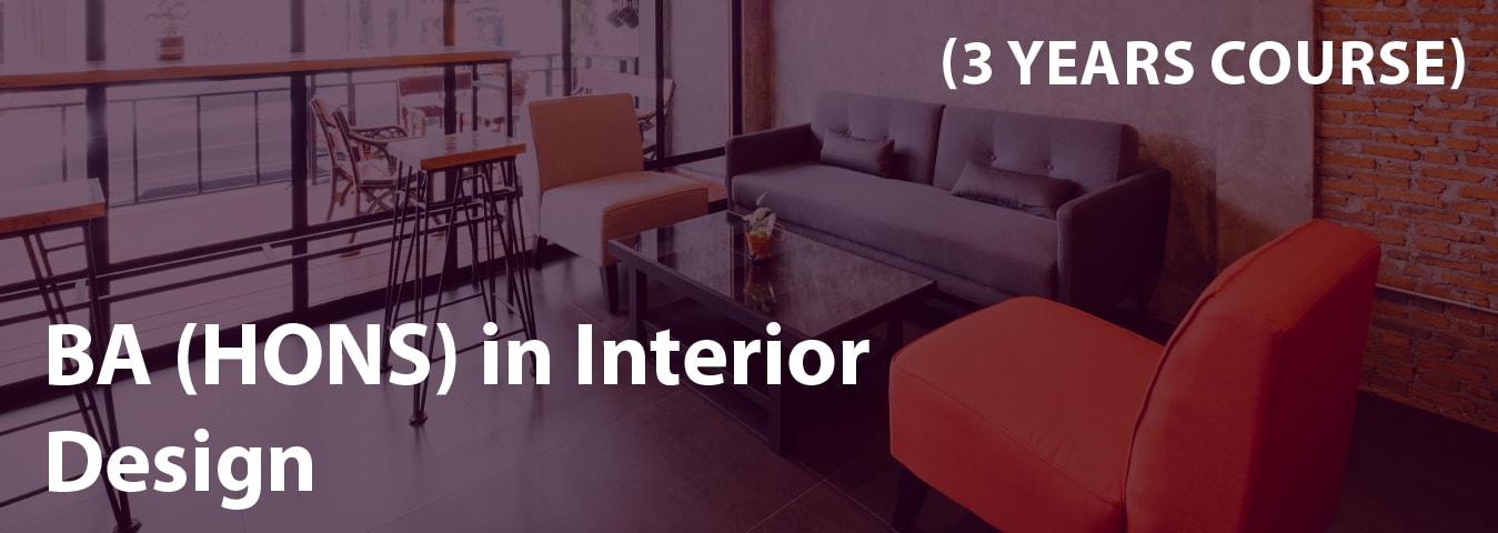 Ba hons in interior design