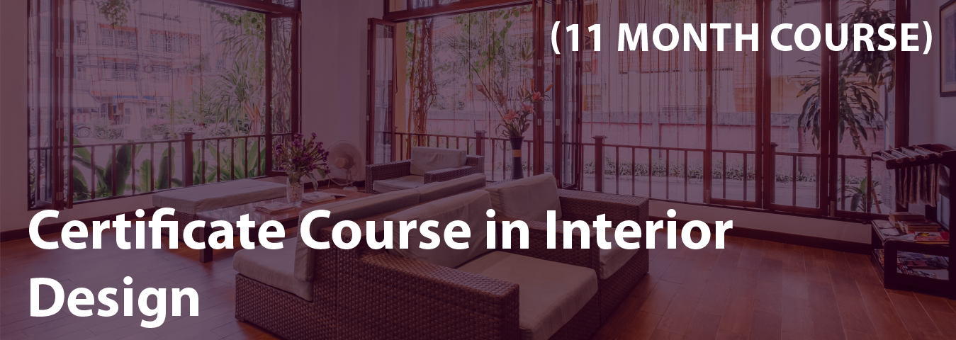 certificate course in interior design
