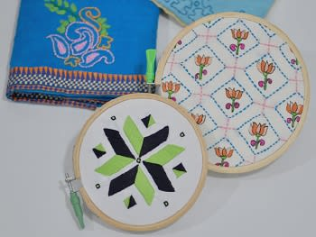 Embroidery - Indian Stitching