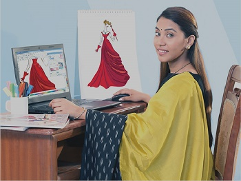 Fashion Illustration - Computer & Digital