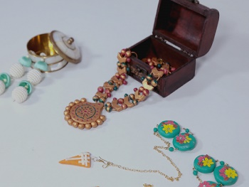 Jewellery Making - Fabric & Clay