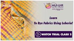 Fabric Designing - Dyeing & Printing