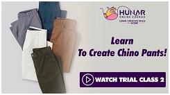 Garment Making - Mens Casual Wear