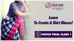 Garment Making - Saree Blouses