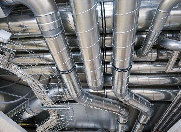 Виды воздуховодов по форме их промышленное производство.