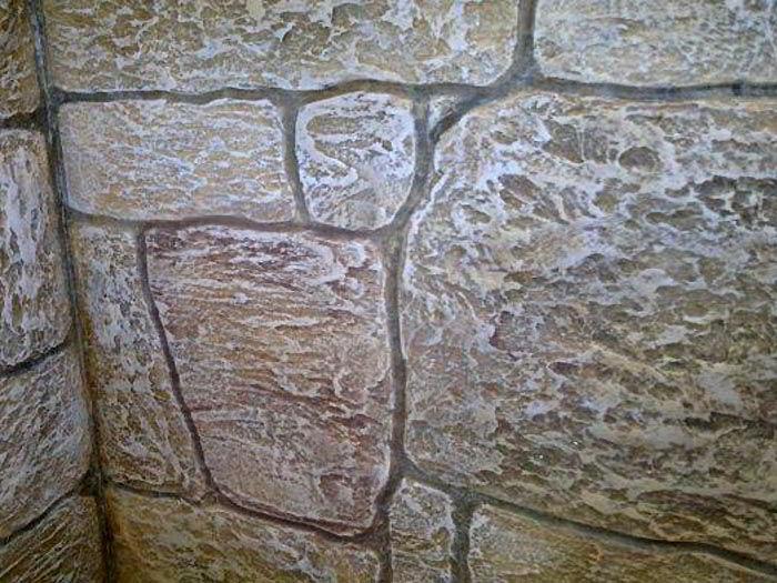 декоративная штукатурка под рваный камень