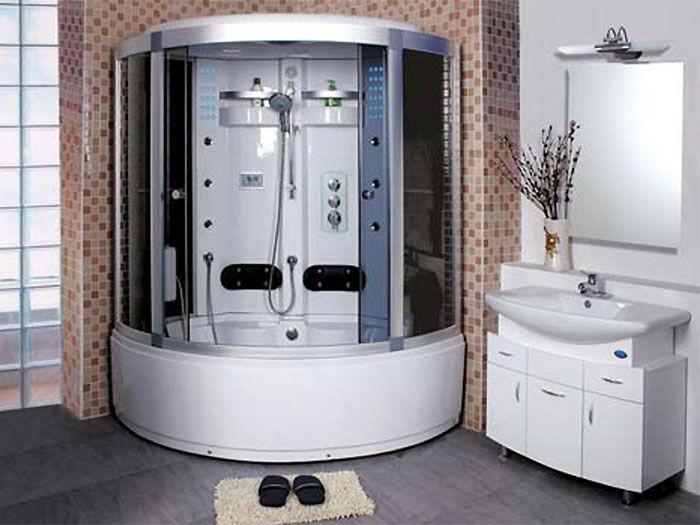 Душевая кабина в ванной комнате определяемся с ценой.
