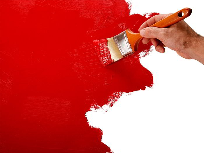 Советы при окрашивании с помощью кисти или технология нанесения краски.