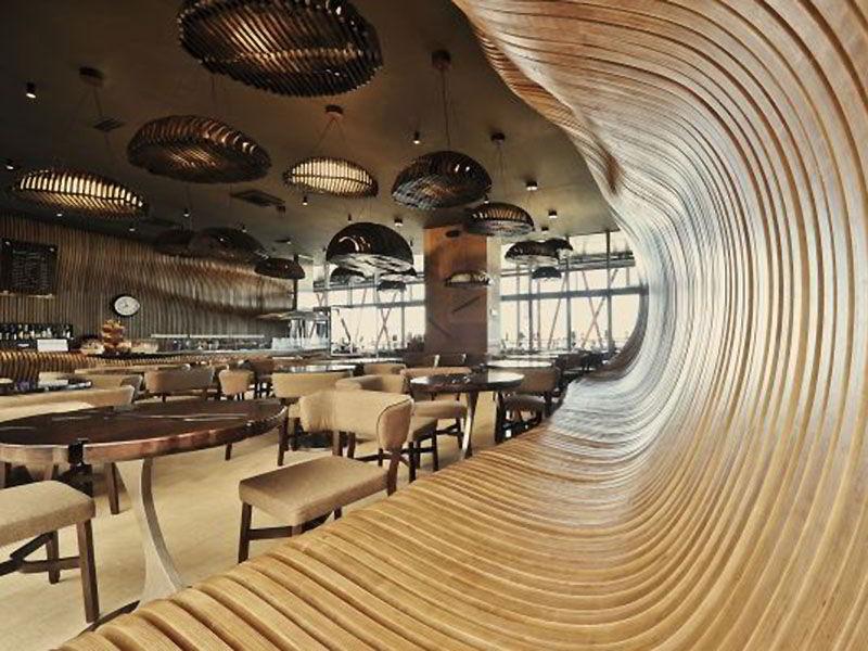 Интерьер кафе (фото) со всего мира