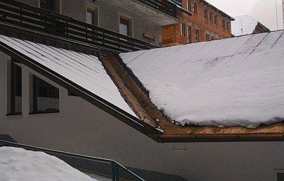 обогрев ендовы крыши