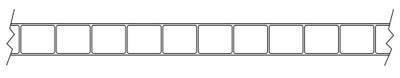 панель из двух слоев