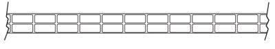 панель с вертикальными ребрами