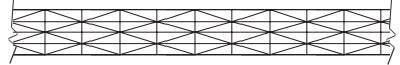 перпендикулярные и диагональные сотые