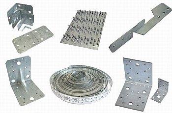 металлические элементы для соединения стропил
