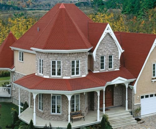 крыша конической формы