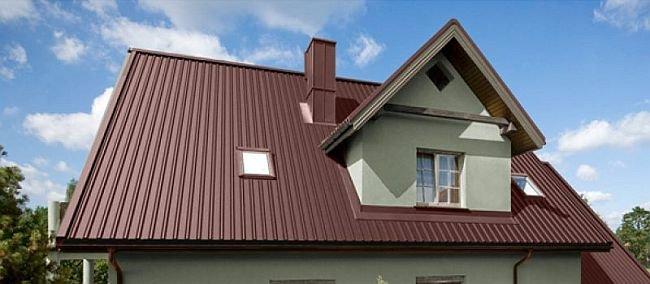 пример укладки без стыков по длине крыши