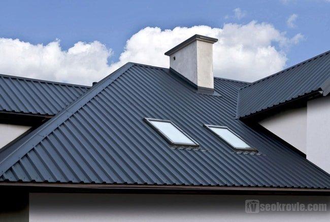 крышное покрытие из профлиста