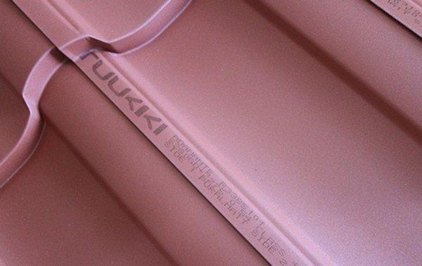фирменная маркировка на листах металлочерепицы