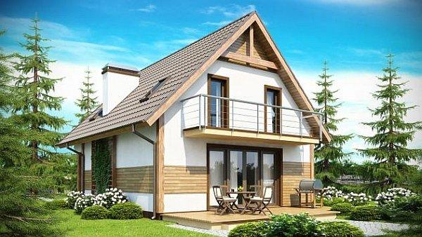 вид симметричной крыши