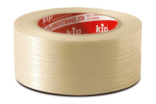 KIP 339-45 PP-Filamentband Karton (1Kt.=18 Ro.)