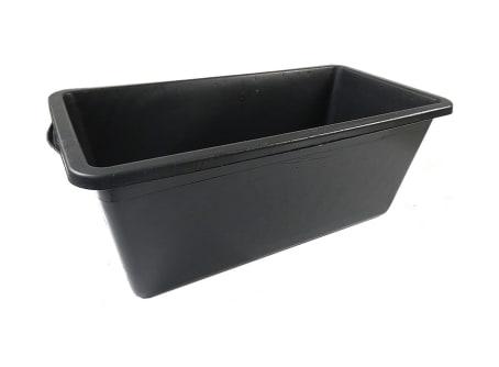 Mörtelkasten aus Kunststoff, schwarz ca. 90 Liter