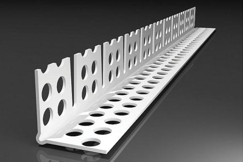 Rundbogenprofil PVC, 2,5 m, 23,5 x 23,5 mm