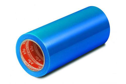 KIP 3813 Schutzfolie, selbstklebend, blau, 100 m lang