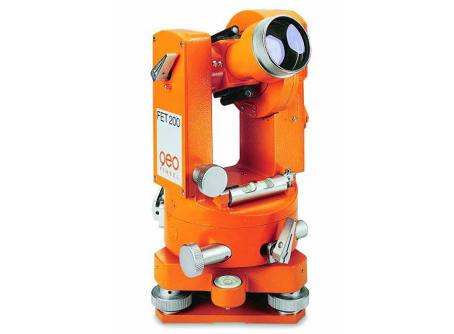 FET 200, Optisch-mechanischer Theodolit