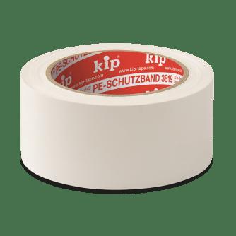 KIP 3819 PE-Schutzband, weiß, 50 mm, 33 m Rolle/Karton