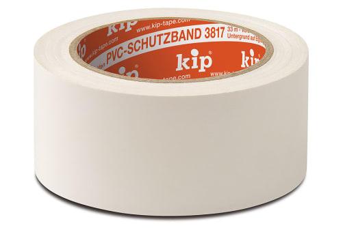 KIP 3817 PVC-Schutzband, weiß, 50 mm, 33 m Rolle/Karton