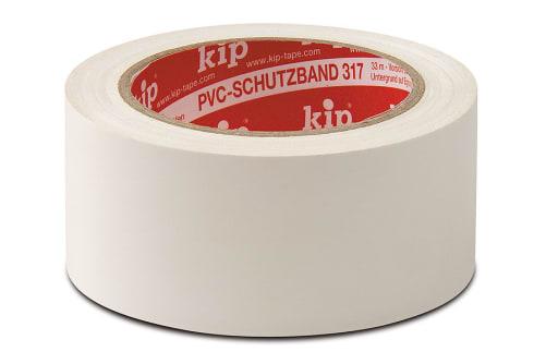KIP 317 PVC-Schutzband, glatt, 50 mm, 33 m Rolle/Karton
