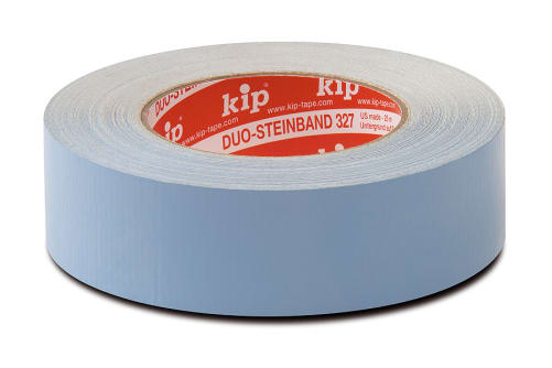 KIP 327 Duo-Steinband blau, doppelseitig klebend, 38 mm, 25 m