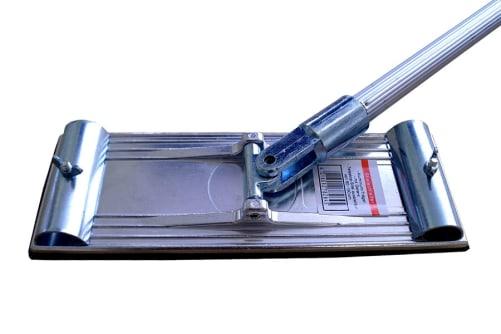 Stielschleifer mit Gelenk und Stiel, 238 x 83 mm
