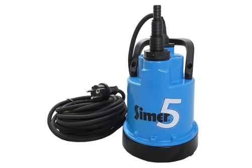 SIMER / JUNG Tauchpumpe D 6601 flachsaugend, ohne Schwimmer