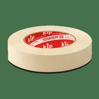 KIP 306 Lackiererband, hitzebeständig, 50 m Rolle/Karton