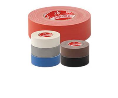 KIP 323 Gewebeband Gaffer´s Tape, nicht refl. Gew.Band für Bühnenbau, Theater etc. Rolle/Karton