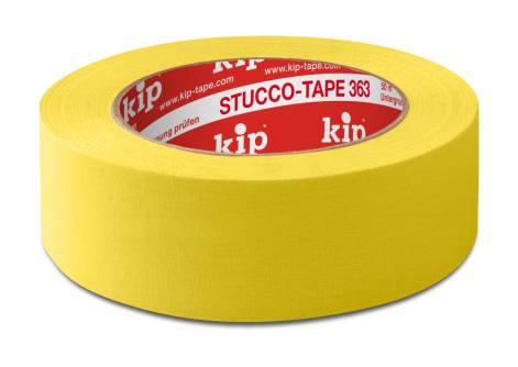 KIP 363 Stucco-Tape, 50 m lang, Abdeckband für Stuckateure, verschiedene Varianten