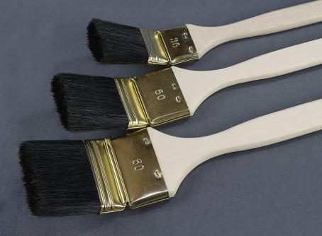Maler-Heizkörperpinsel, schwarz für lösemittelhaltige Lacke