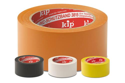 KIP 315 Premium PVC-Schutzband, glatt Rolle/Karton