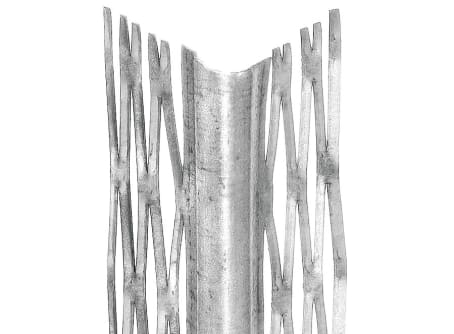 4000 Kantenprofil, Innenputz, Putzstärke: 12 mm