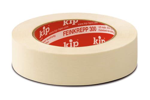 KIP 300 Feinkrepp Klebeband, Standard Maler-Qualität