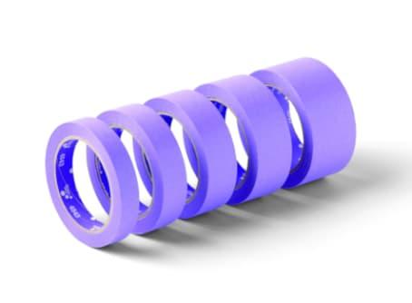 SCHULLER SensiCore Abdeckklebeband bis 100°, 30 mm x 50 m violett Rolle/Karton